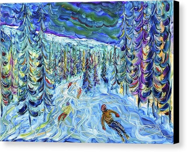 Pete Caswell - In the Woods La Plagne