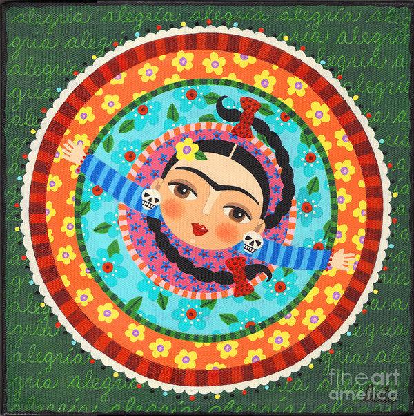 LuLu Mypinkturtle - Frida Kahlo Dancing