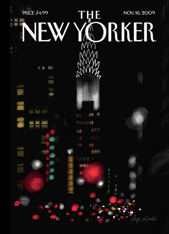 Jorge Colombo-Gomes - New Yorker November 16th, 2009