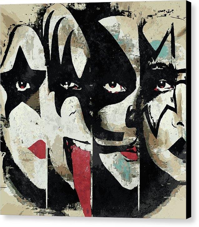 Caio Caldas - KISS Art Print