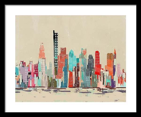 Bleu Bri - Boston City Skyline