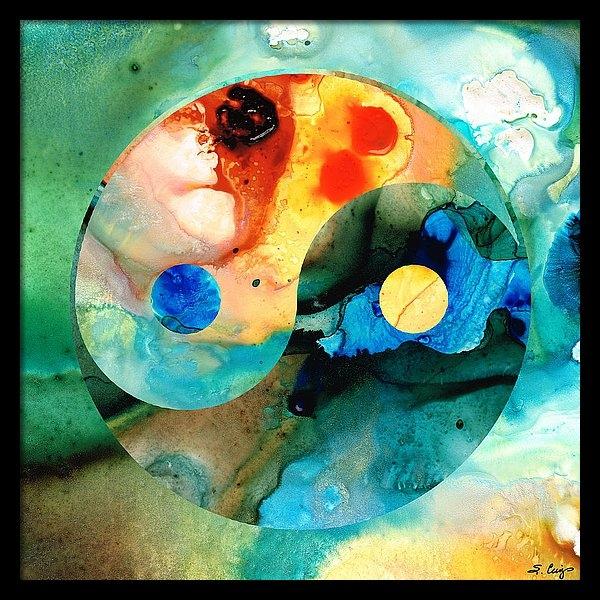 Sharon Cummings - Earth Balance - Yin and Yang Art