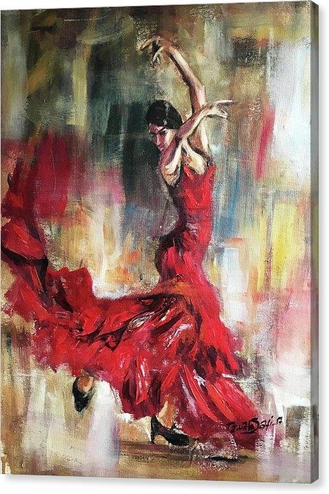 Tawab Safi - Flamenco dancers