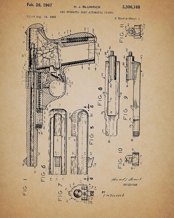 Mountain Dreams - Gas Operated Semi-Automatic Pistol