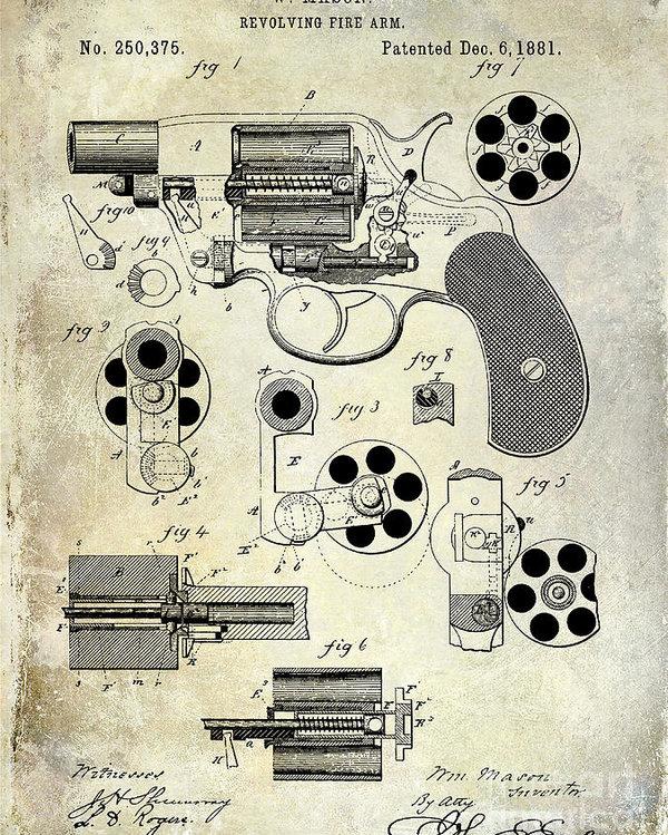 Jon Neidert - 1881 Revolver Patent