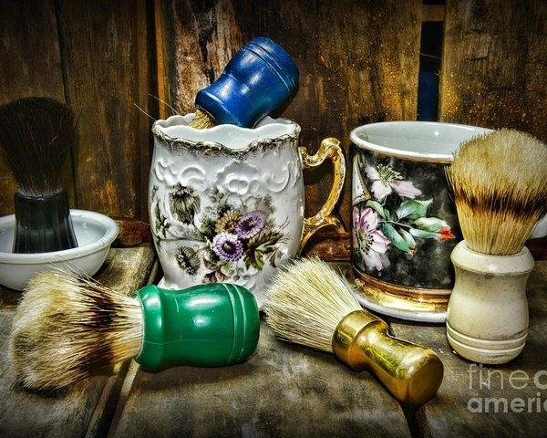 Paul Ward - Barber - Shaving Mugs and Brushes