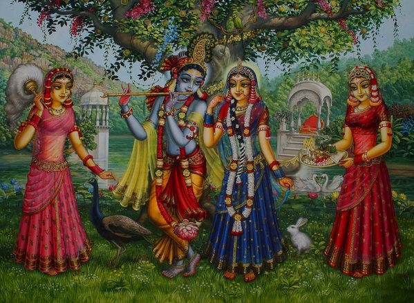 Vrindavan Das - Sakhi Yugal