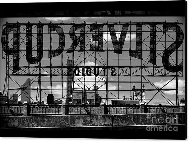 James Aiken - Silvercup Studios Sign Backside