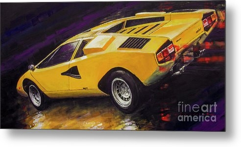 Yuriy Shevchuk - 1974 Lamborghini Countach LP400