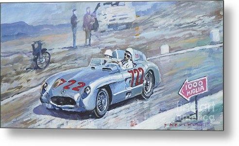Yuriy Shevchuk - 1955 Mercedes Benz 300 SLR Moss Jenkinson winner Mille Miglia 01-02