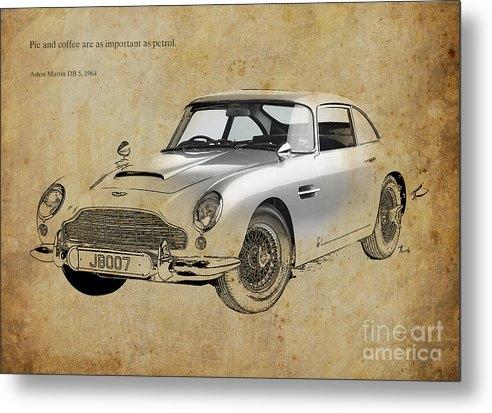 Pablo Franchi - Aston Martin DB5 1964 quote