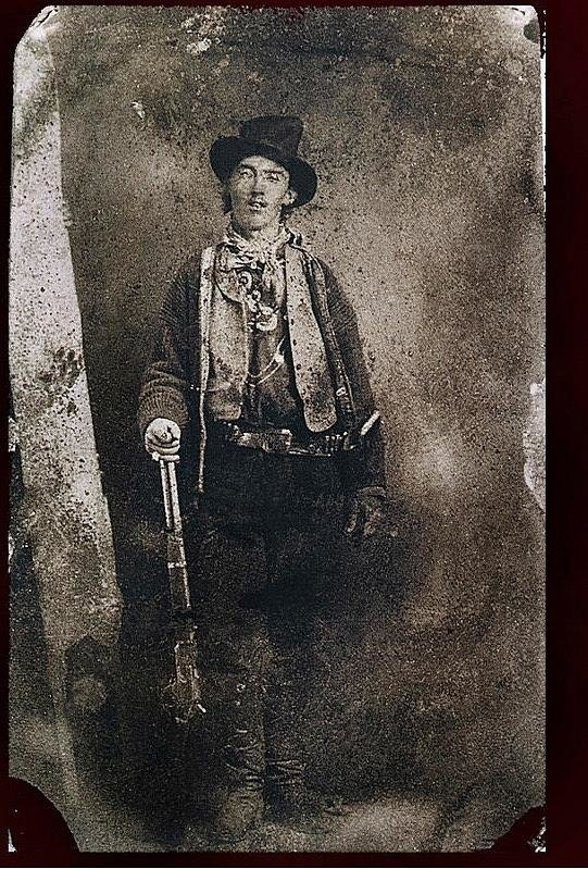 David Lee Guss - Only authenticated photo of Billy the Kid Ft. Sumner New Mexico c.1879-2013