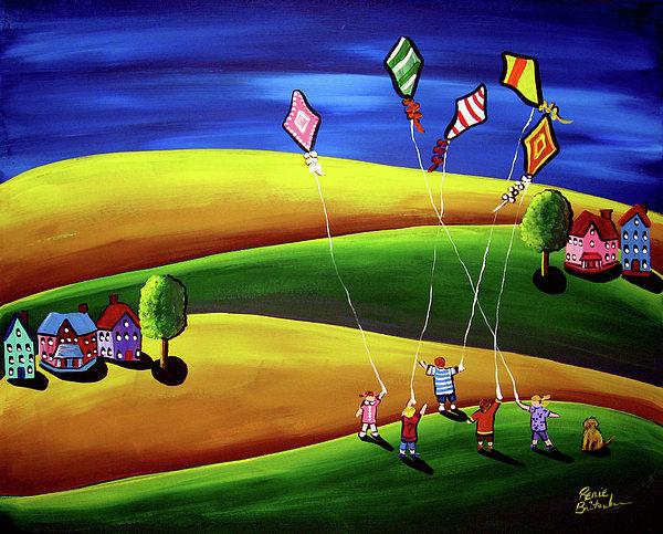 Renie Britenbucher - Kite Flyers
