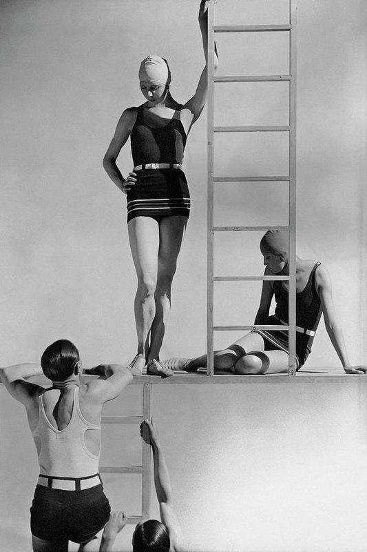 George Hoyningen-Huene - Models Wearing Bathing Suits