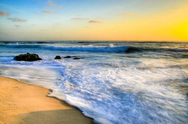 Kelly Wade - Windansea Beach Sunset