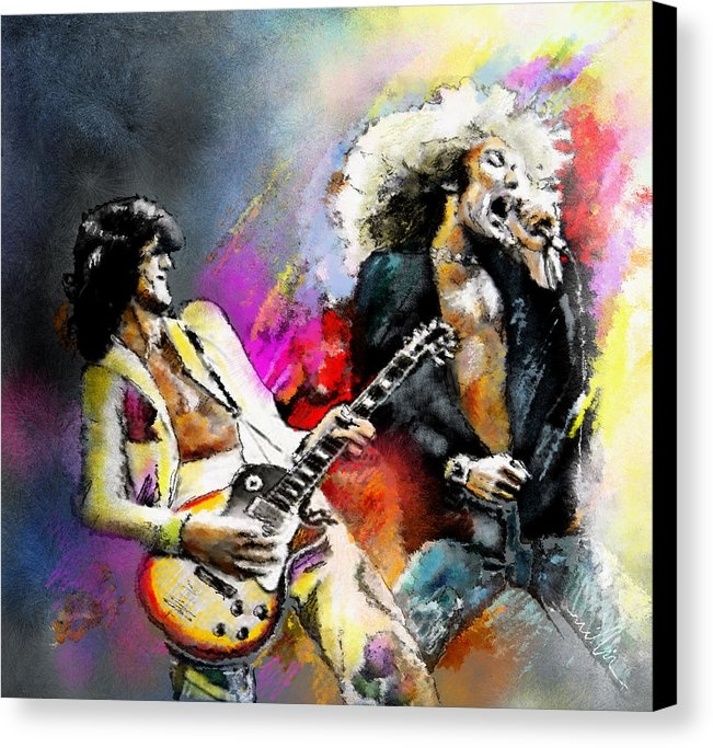 Miki De Goodaboom - Jimmy Page and Robert Plant Led Zeppelin