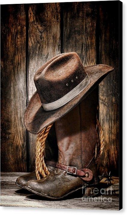 Olivier Le Queinec - Vintage Cowboy Boots