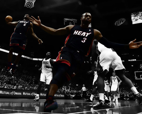 Brian Reaves - Lebron and D Wade Showtime