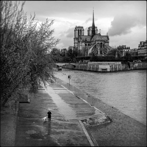Lazh Lo - Walk by Notre Dame Cathedral