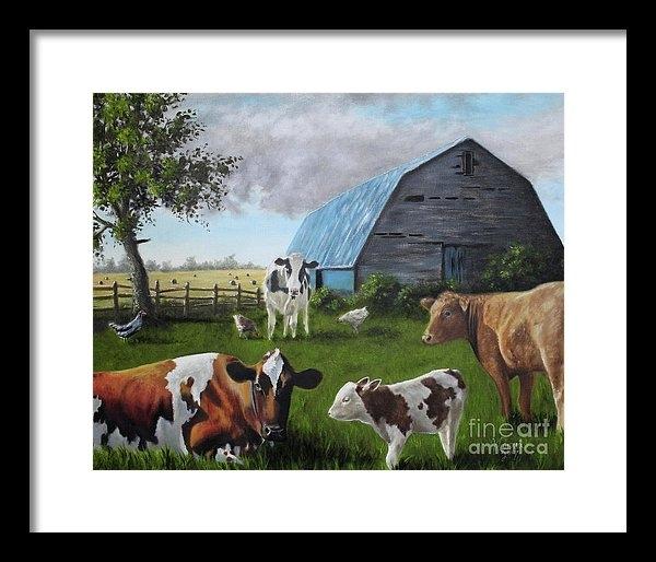 Jose Corona - Blue barn
