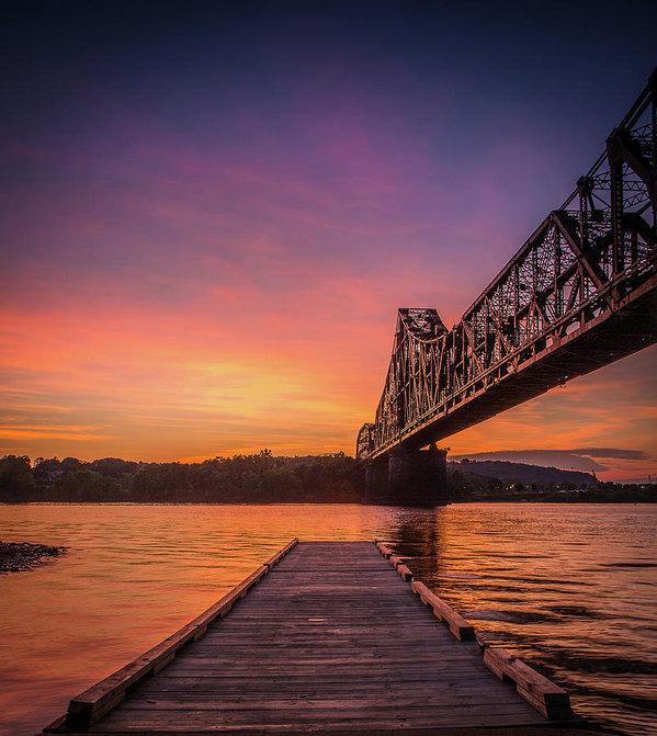 David Jugan - Ohio River Sunset