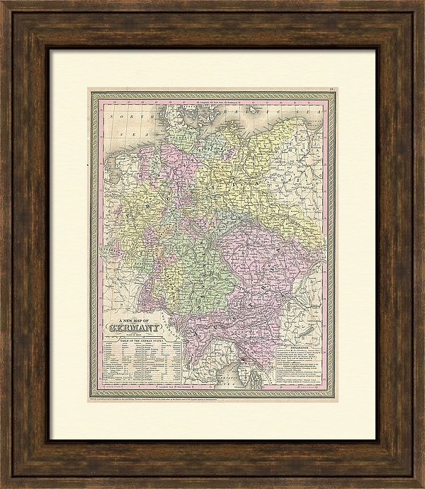 CartographyAssociates - Vintage Map of Germany