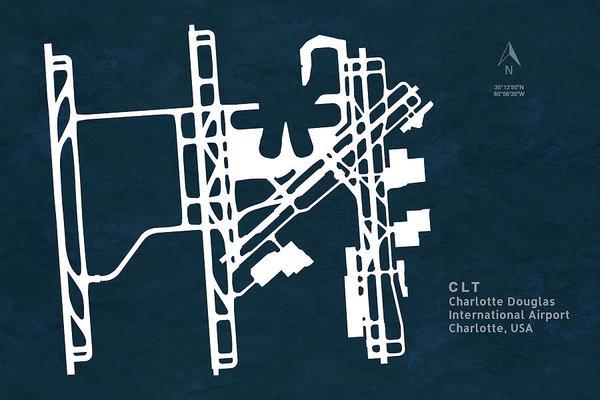 Jurq Studio - CLT Charlotte Douglas International Airport in Charlotte North C