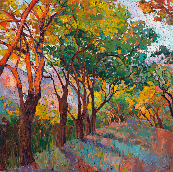 Erin Hanson - Lane of Oaks