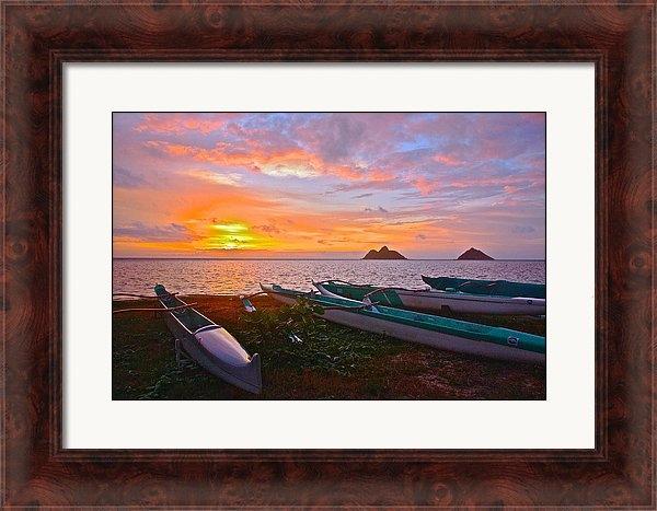 Stephen Mar - Outrigger sunrise