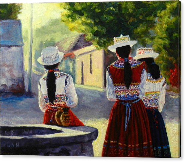 Ningning Li - Colca Valley Ladies, Peru Impression