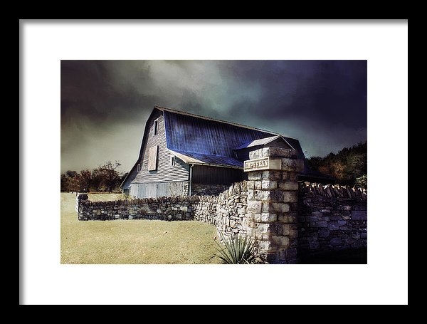 Julie Hamilton - Empyrean Estate stone wall