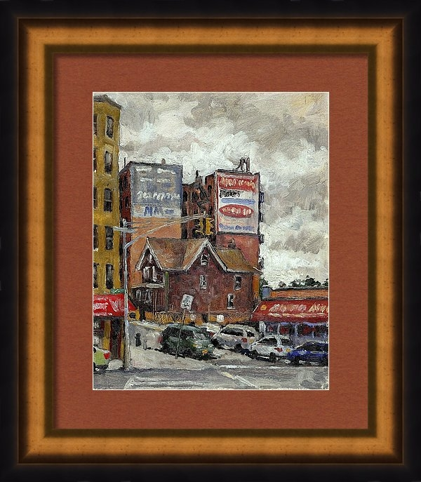 Thor Wickstrom - From 230th Street the Bronx Oil on Panel
