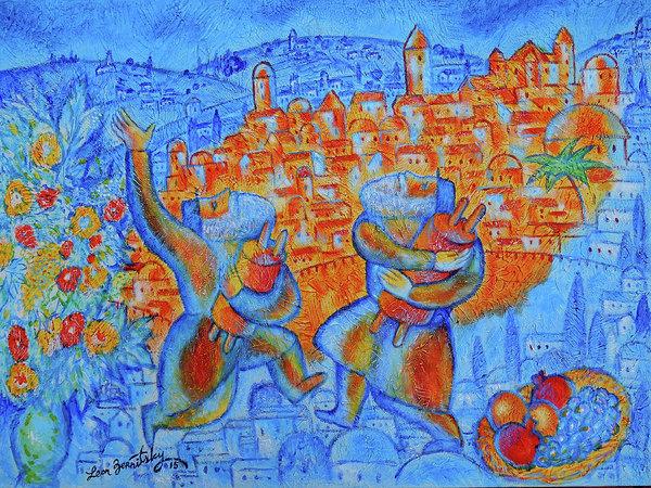 Leon Zernitsky -  Jerusalem of Gold