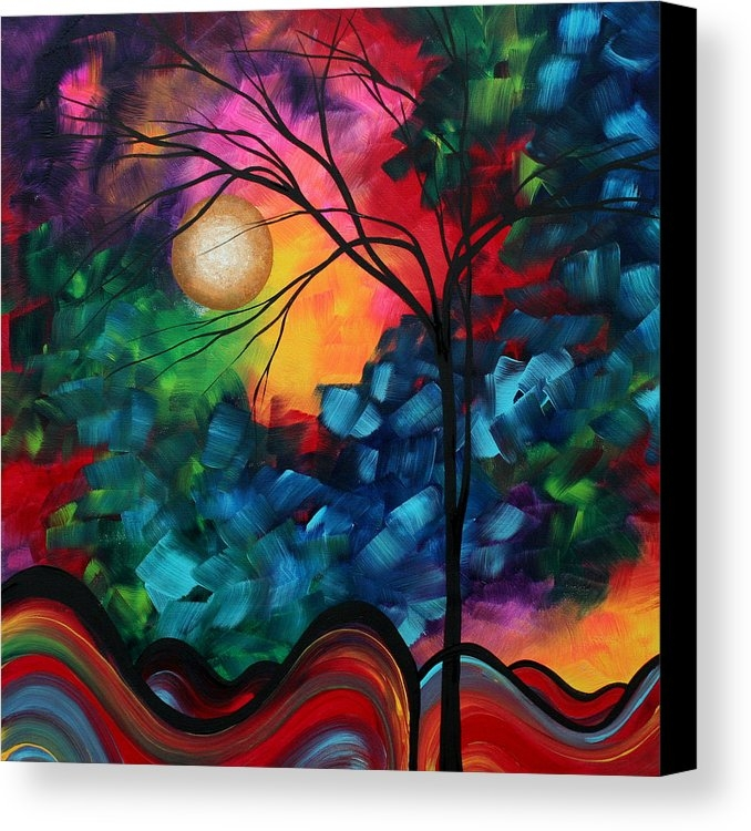 Megan Duncanson - Abstract Landscape Bold Colorful Painting