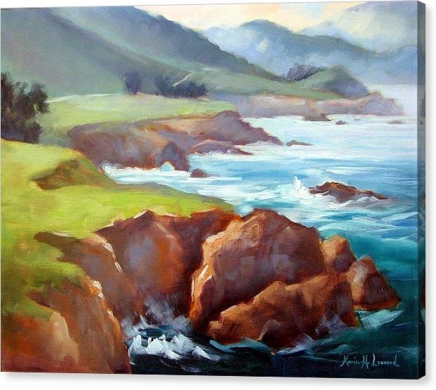Karin  Leonard - Rocky Point Afternoon Big Sur