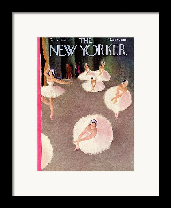 Susanne Suba - New Yorker October 21st, 1939