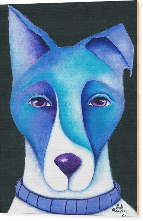 Deb Harvey - Blue Dog