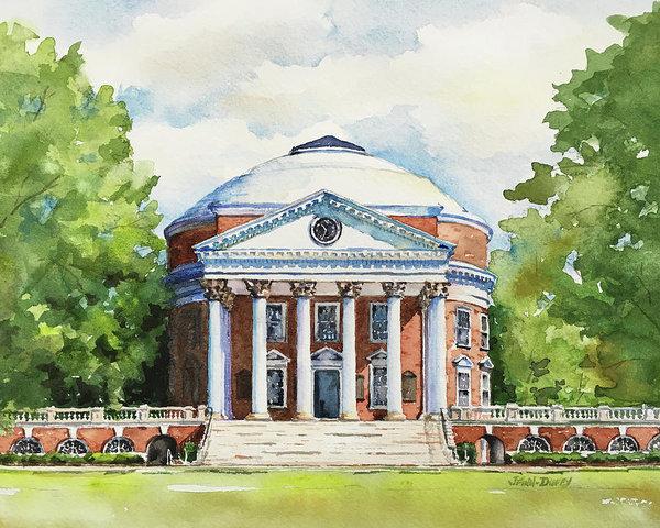 Jan Finn-Duffy - Rotunda at the University of Virginia