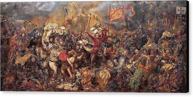 Jan Matejko - The Battle of Grunwald
