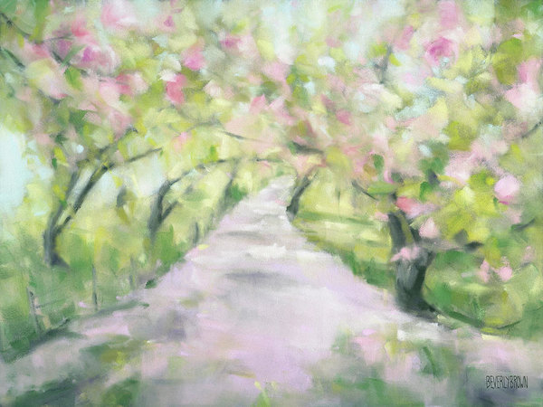 Beverly Brown - Cherry Blossom Bridle Path Central Park