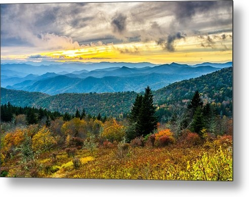 Anthony Heflin - Fall at Cowee Mountains overlook