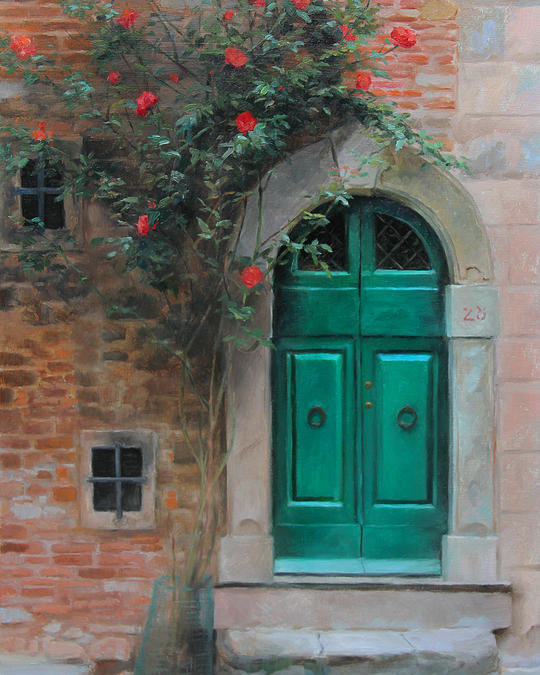 Anna Rose Bain - Climbing Roses Cortona Italy