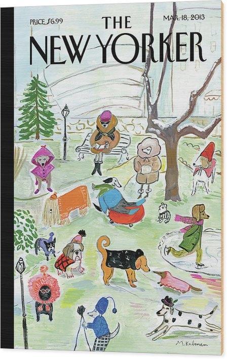 Maira Kalman - New Yorker March 18th, 2013