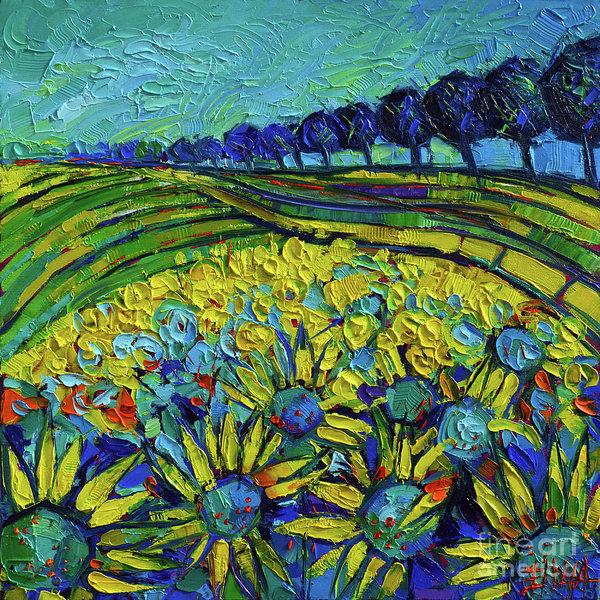 Mona Edulesco - Sunflowers Phantasmagoria