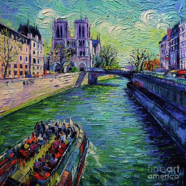 Mona Edulesco - I Love Paris in the Springtime