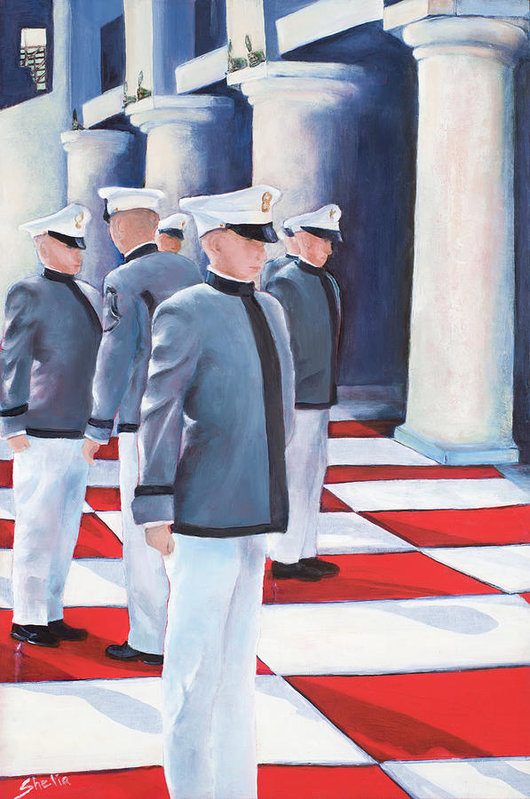 Shelia Thompson - Six Cadets