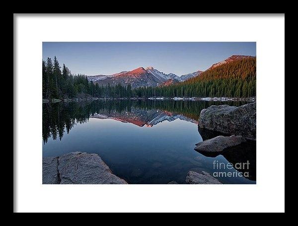Ronda Kimbrow - Longs Peak Reflection on Bear Lake