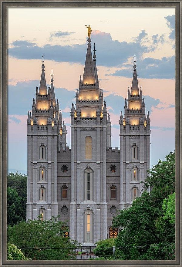 Dustin  LeFevre - Salt Lake City Temple Morning