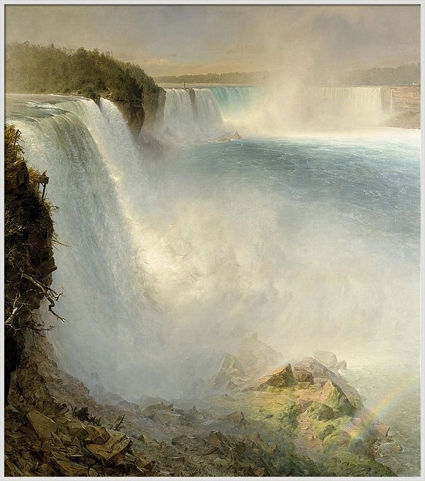 Frederic Edwin Church - Niagara Falls from the American Side