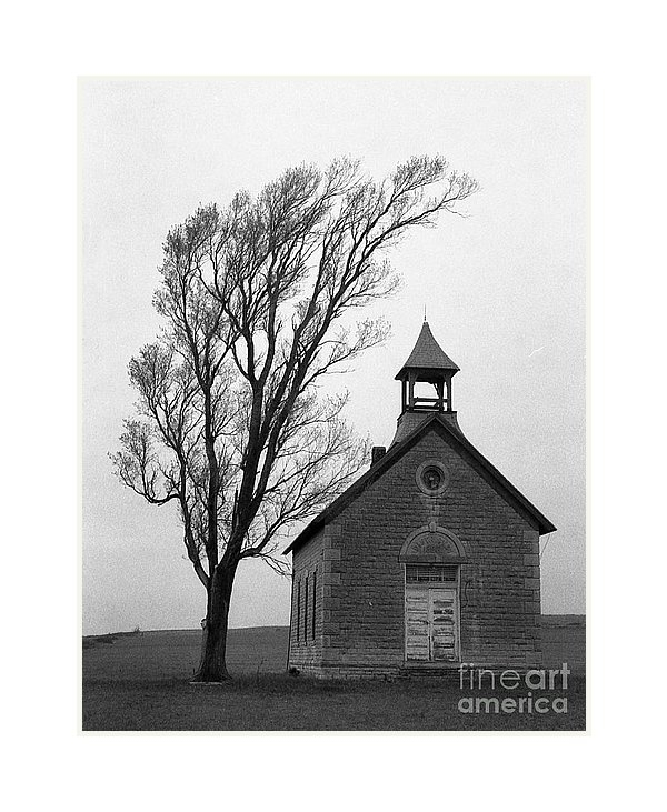 Crystal Nederman - Kansas Schoolhouse